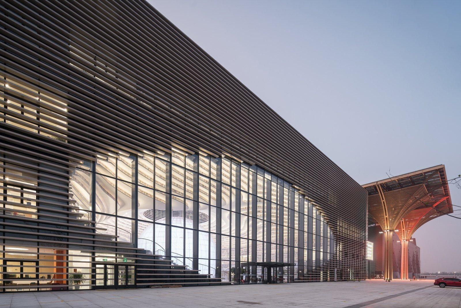 Tianjin Binhai Kütüphanesi
