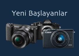 Yeni Başlayanlar için Fotoğraf Makinesi (2018)