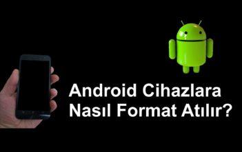 Android Telefona Format Atma