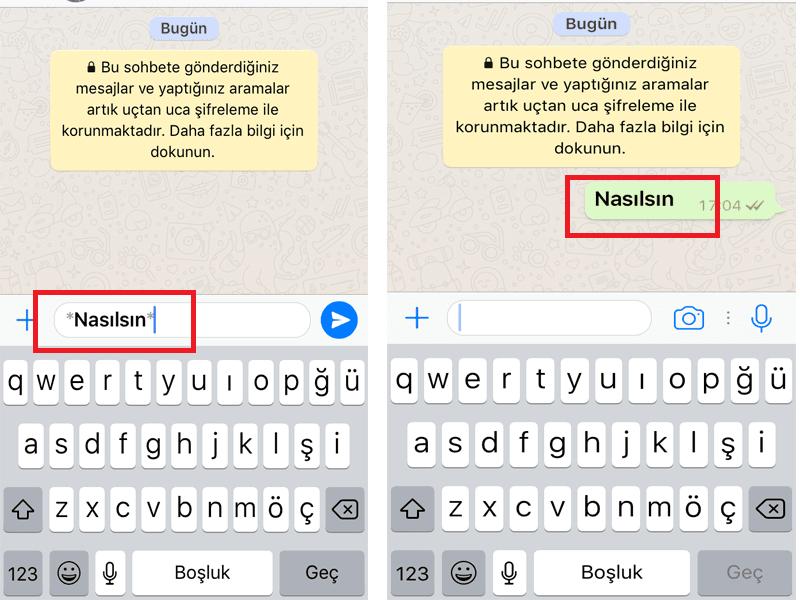 WhatsApp Yazı Tipi Nasıl Değiştirilir?