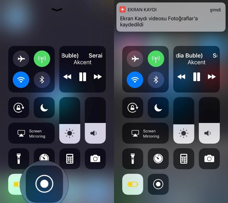 iPhone Ekran Videosu Kaydetme Nasıl Yapılır?