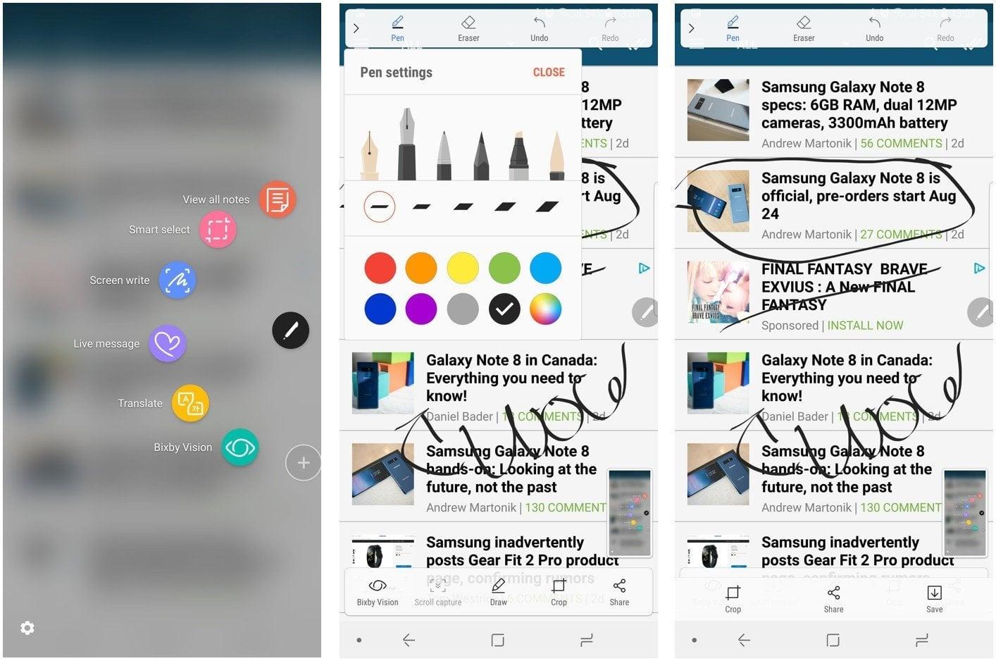 Samsung Galaxy Note 9 Ekran Görüntüsü Nasıl Alınır?