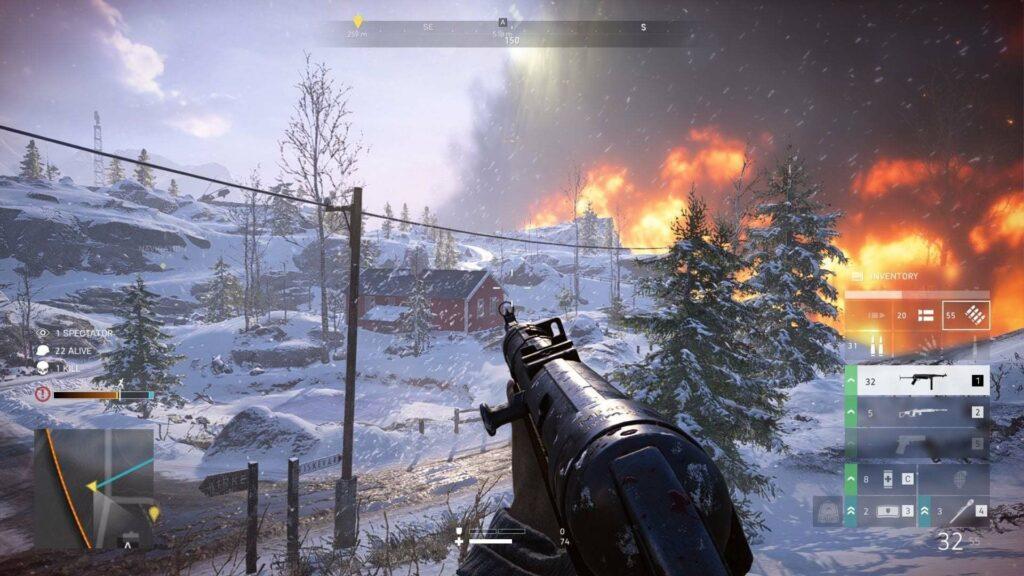Battlefield 5 Firestorm Screenshot