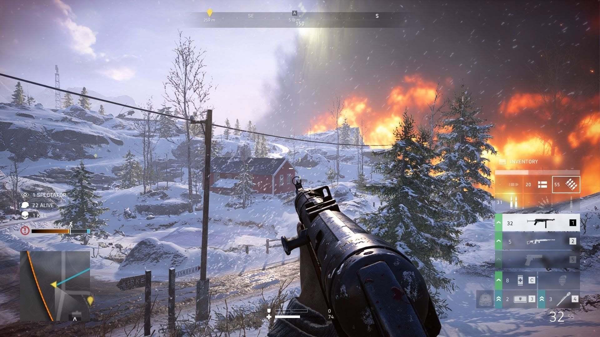Battlefield V Firestorm Ekran Görüntüsü