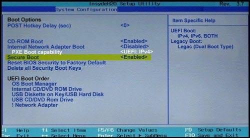 Format Öncesi BIOS Ayarları / 2