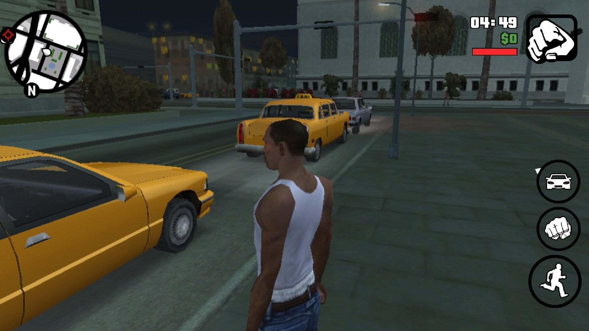GTA San Andreas Ekran Fotografı