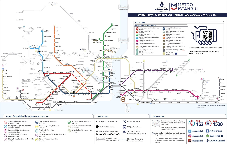 İstanbul Metro Haritası