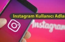 Instagram Kullanıcı Adları