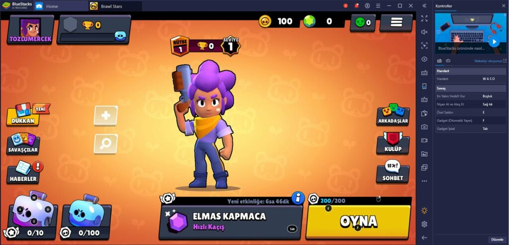 Brawl Stars Bluestacks İndir